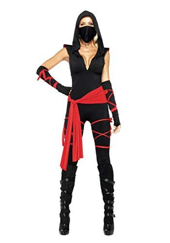 Cute Japanese Halloween Costumes (Sexy Deadly Ninja Costume -)