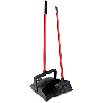 Amazon Com Libman 917 Lobby Broom And Dust Pan Closed