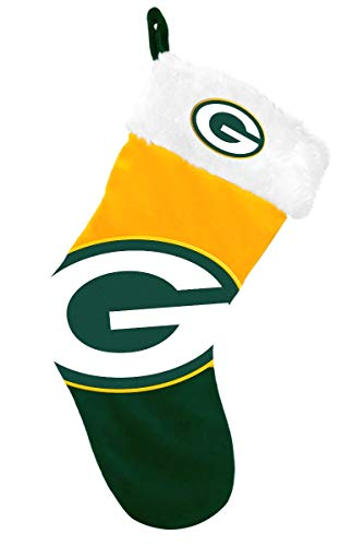 NFL Green Bay Packers 2018 Basic Holiday Stocking, Team Color, One Size