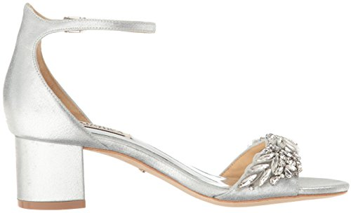 Badgley Mischka Womens Tamara Dress Sandal Silver qM4YQ