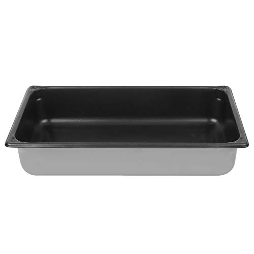 - TableTop King 70042 Super Pan V Full Size Anti-Jam Stainless Steel SteelCoat x3 Non-Stick Steam Table/Hotel Pan - 4