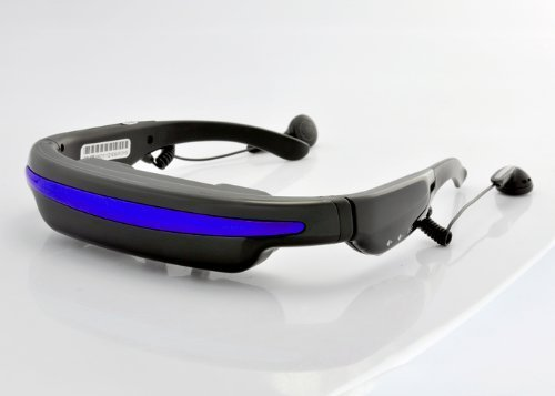 Price comparison product image PowerLead Mobile Theatre Video Glasses 52 Inch Virtual Screen