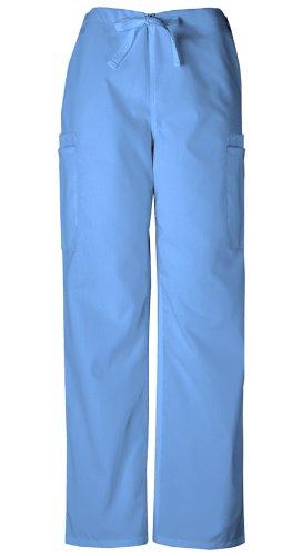 Scrubs - Cherokee Authentic Workwear Unisex 7 Pocket Cargo Pant (Ceil, XL)