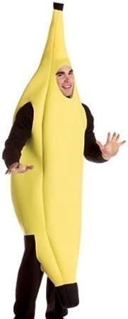 Uteruik Banana Bananaman Disfraz Disfraz: Amazon.es: Hogar