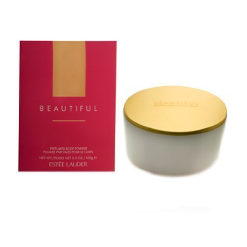 BEAUTIFUL by Estee Lauder for Women BODY POWDER 3.5-Ounce, 0.25 - Estee Powder Dusting Lauder