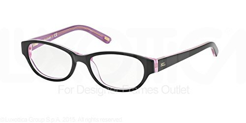Amazon.com: Polo PP8519 PP8519 Eyeglass Frames 1013-46 - Black/Pink ...