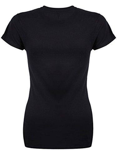 Damen T-Shirt On Wednesdays We Wear Black schwarz