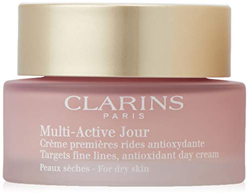 Clarins Multi-Active Dry Skin Day Cream, 1.6 Ounce
