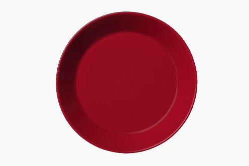 Iittala Teema 6-3/4-Inch Bread and Butter Plate, Red
