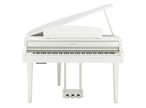 Yamaha Clavinova Digital Grand Piano with Bench White