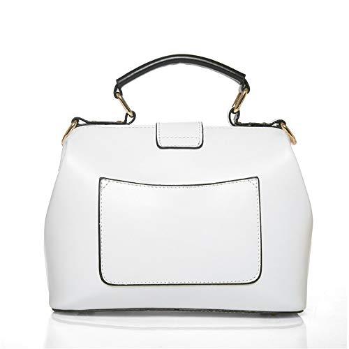 Fashion Borsa Tracolla A Lips Tracolla Lady White Diagonale A Red 5CwtZqx
