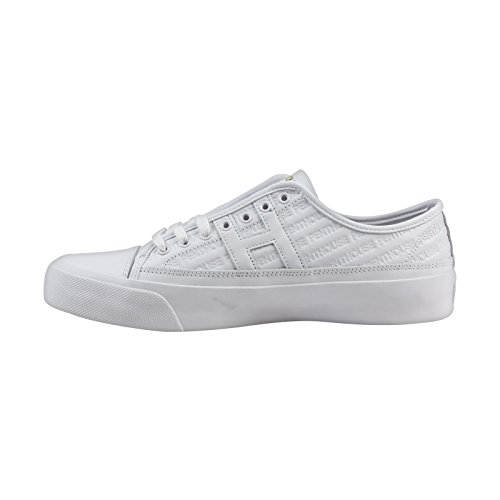 HUF Penthouse Hupper 2 Lo Mens White Leather Lace Up Sneakers Shoes tA8uR