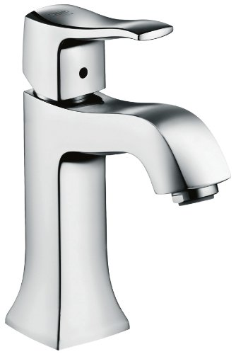 Hansgrohe 31075001 Metric C Single-Hole Faucet, Chrome - Metris Single Handle