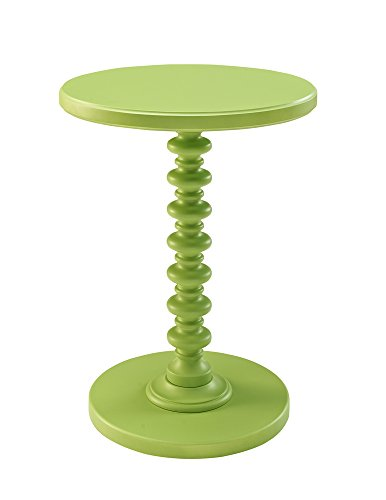Pedestal Table Posts - Powell Furniture Round Spindle Table, Green