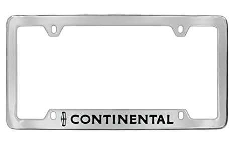 Amazon.com: Lincoln Continental Chrome Plated Metal Bottom Engraved ...