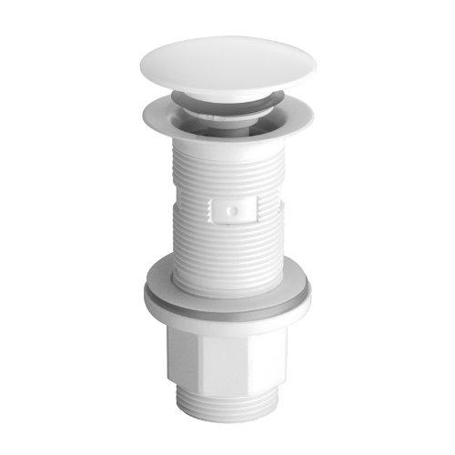 Vidage lavabo, vasque et bidet - Bonde lavabo ABS up & down universelle blanc Ondyna Cristina
