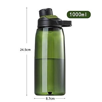 FS Botella de Agua de plástico - Boca estándar - No tóxico ...