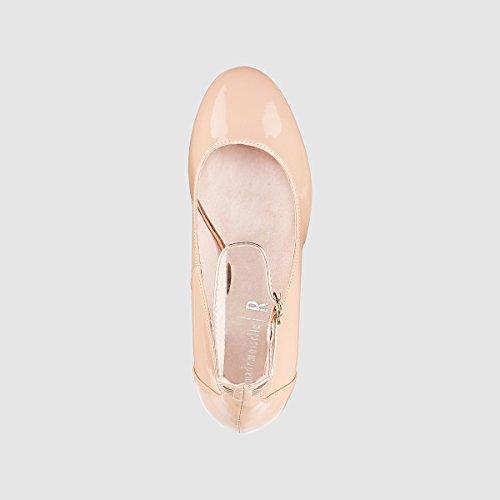 Donna R con alla Caviglia in Redoute Ballerine 37 Cinturino Vernice La Mademoiselle qE0twvv7