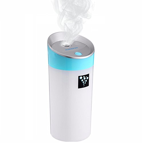 Room Humidifier Filter 300ML,Essential Oil Adjustable Mist Mode Diffuser, with 7 Colors Led Night Light For Home Baby Car Office Yoga
