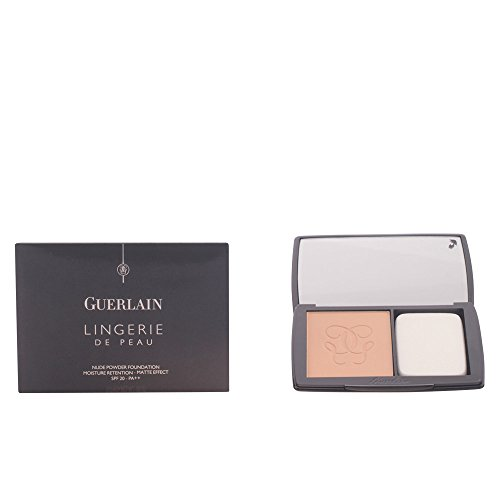 Guerlain Lingerie De Peau Nude Powder SPF 20 Foundation, No. 03 Natural Beige, 0.35 Ounce ()