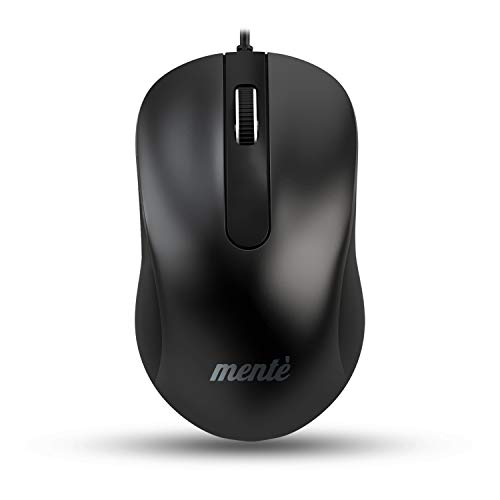 Mente Wired Mouse for Laptop and Desktop Computer PC 3X Faster Response Time Simple Plug and Play Compatible with PC and MAC