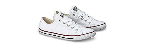 Converse - Kastar Taylor Prydlig Ox - 537204c - Färg: Vit - Storlek: 7,0