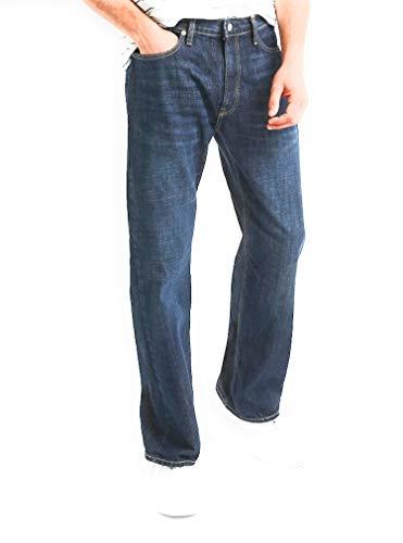 GAP Men's Relaxed Fit Jeans, Medium Indigo Wash, Non-Stretch ()