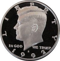 1992 S Gem Proof Kennedy Half Dollar US Coin Half Dollar Uncirculated US Mint ()