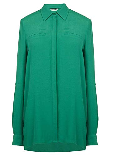 Naf Camisa Mujer Basica Verde Camisa Naf ZxwCB8q
