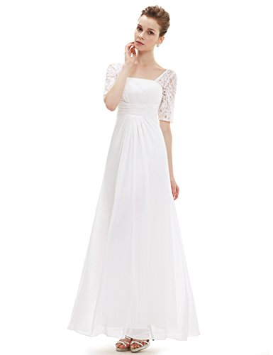 Buy long sleeve empire waist cocktail dress - 8