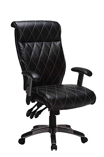 Smugdesk High Back Executive Office Chair with Thick Padding Headrest