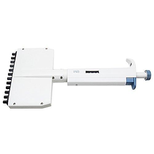Four E's Scientific 50-300µl Multichannel Adjustable Volume Pipettes,12 Channels