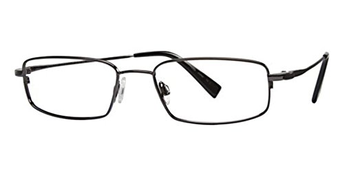 Flexon Flx 881Mag-Set Eyeglasses 033 Gunmetal Demo 54 18 140 ()