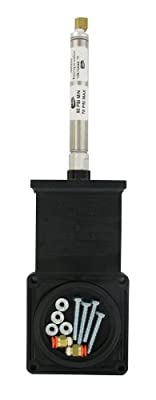 """Valterra 9300PB ABS Pneumatic Gate Valve Replacement Part, Black, 3"""", Metal Cylinder, Polybagged by Valterra Products"""