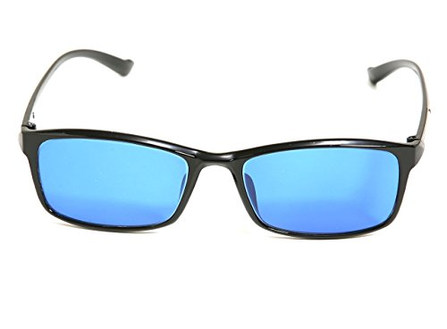 TP-008 Blue Color Blind Glasses (Tritanomaly / - Color For Colorblind Sunglasses