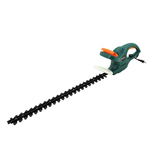 DOEWORKS 4.5AMP Corded Electric Hedge Trimmer with 25″ Dual Steel Blade
