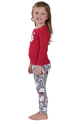 3716dfdefa PajamaGram Color Me Christmas Cookies Cotton Jersey Matching Family Pajamas