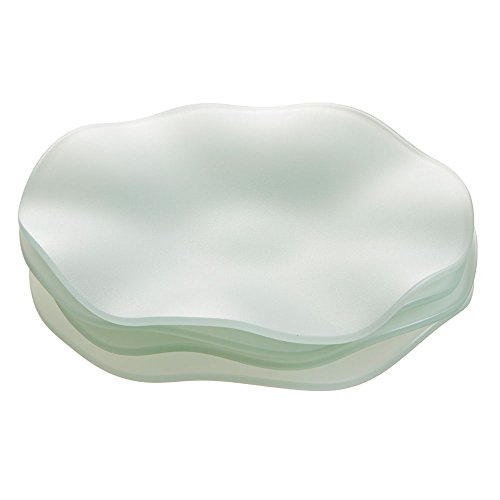 Pearl SeaGlass Wave Plates, 10
