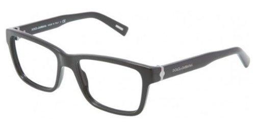 Dolce & Gabbana Mens 3130 Striped Tortoise Frame Plastic Eyeglasses, 53mm