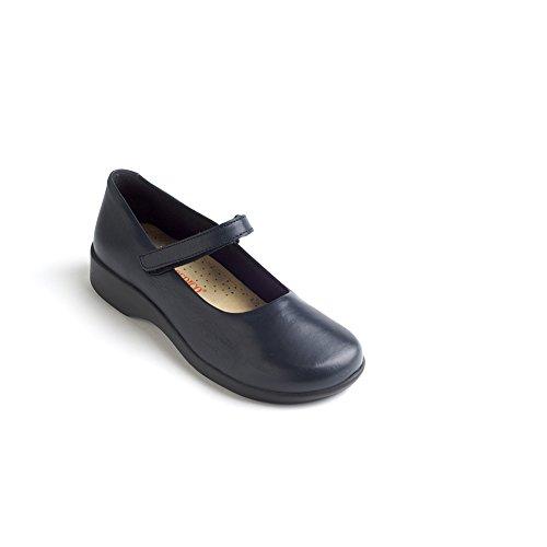 Arcopedico 7151 Scala Womens Flats Shoes Navy RSsDdrmlD