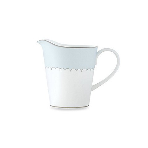(Monique Lhuillier Lily Of The Valley Blue Creamer 4.25