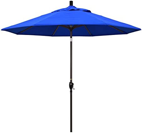 California Umbrella GSPT908117-5401 9' Round Aluminum Market
