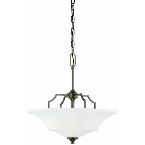 Thomas Lighting SL892515 Chiave Collection 2 Light Pendant, Oiled Bronze