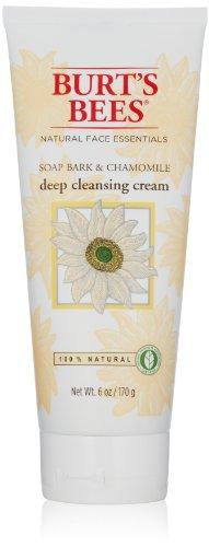 (Burt's Bees Soap Bark & Chamomile Deep Cleansing Cream 6 oz (Pack of 2))