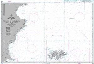 Ba gráfico 558: Isla leones al estrecho de Magallanes, Las ...