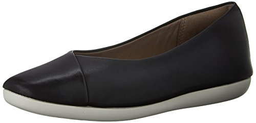 Clarks Feature Fest Ballet Flat Black