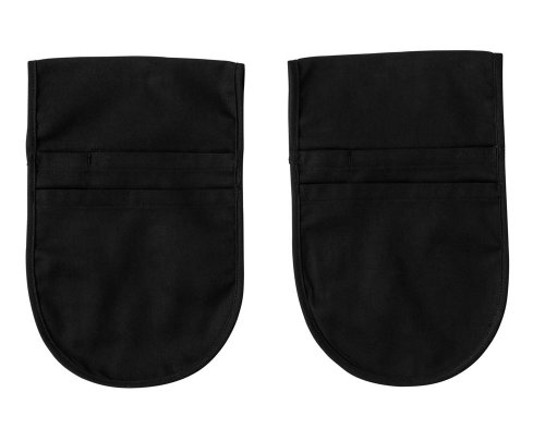 Five Star Chef Apparel Belt Pouch (Sold by the Dozen) (One Size, Black) by White Swan
