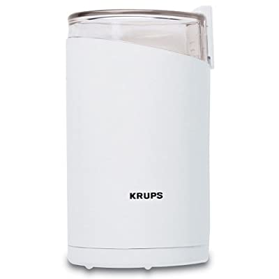 KRUPS F2037051 Electric Spice and Coffee Grinder with Stainless Steel Blade by Krups North America Inc.