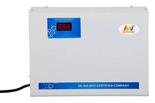 Servomate 4KVA  90v 300v  Automatic Voltage Stabilizer for Upto 1.5 Ton AC, with 12 Months Replacement Guarantee