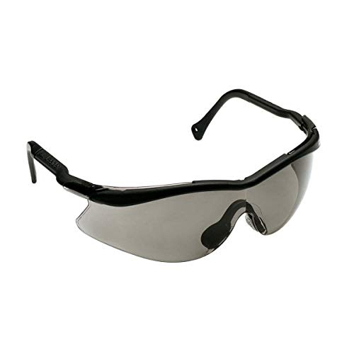 3M QX Protective Eyewear 2000, 12110-10000-20 Gray Lens, Black Temple, Soft Nose (Case of 20 EA)